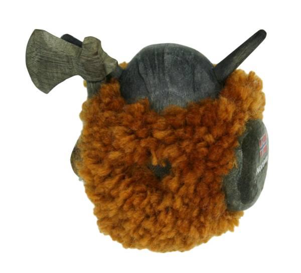 Bilde av Magnet, lys brun pompom viking