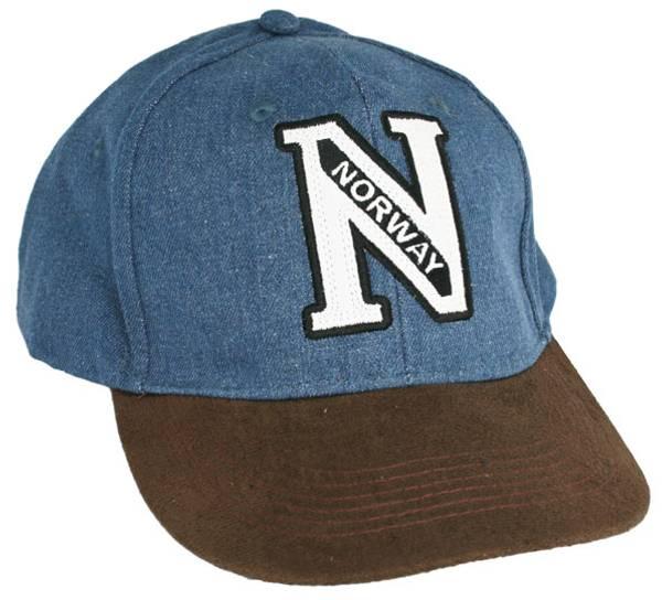 Bilde av Caps blå N-norway. Brun brem