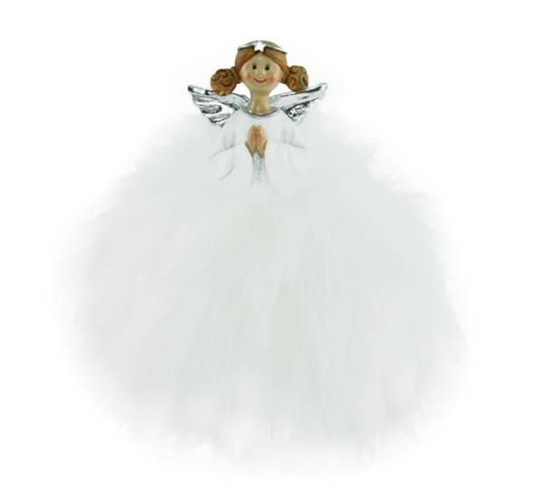 Bilde av Fluffy engel med tiara, liten
