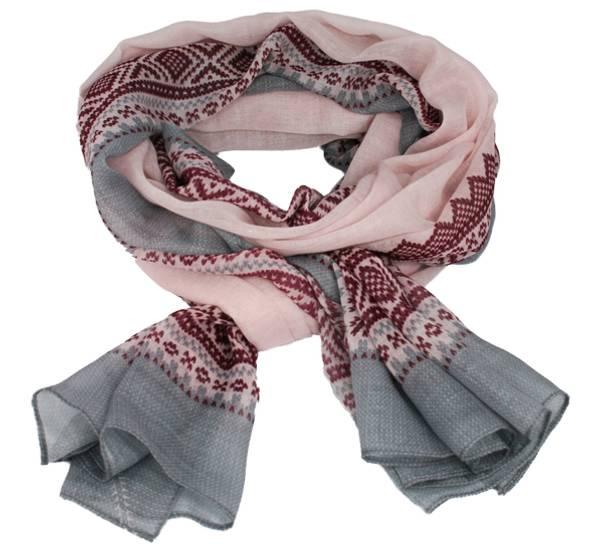 Bilde av Mariusskjerf, lyserosa, rosa og grå