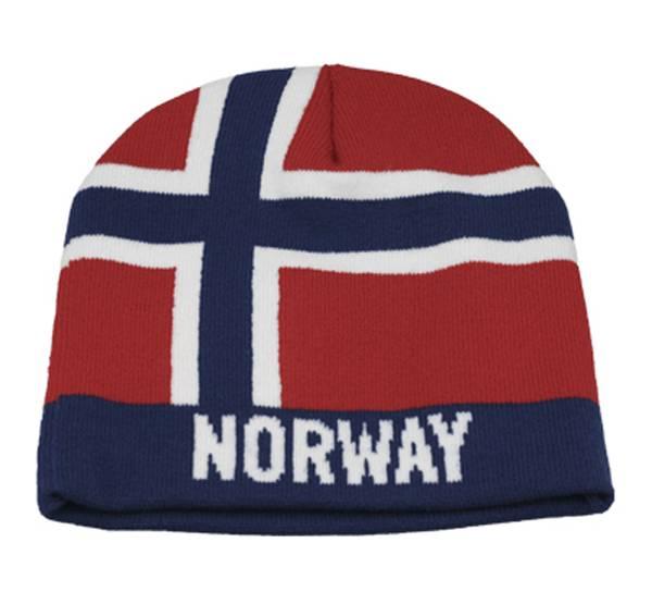 Bilde av Lue norsk flagg.  Norway