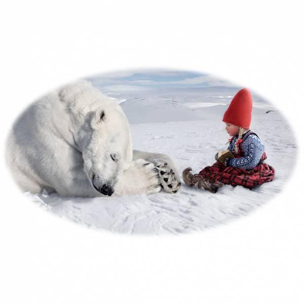 Bilde av Krus, Anja leser for isbjørnen - Juledrømmen nr.