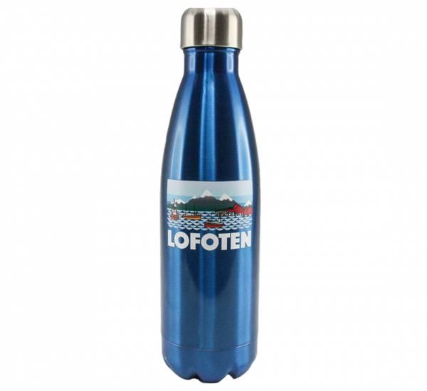 Bilde av Termoflaske, Lofoten blå