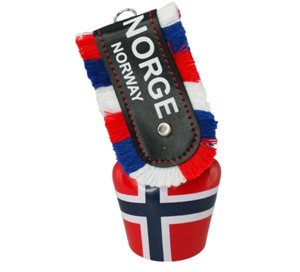 Bilde av Stor bjelle med Norgesflagg , Norge,Norway