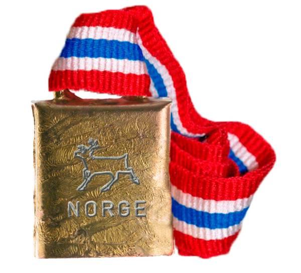 Bilde av Bjelle med norgesbånd - Reinsdyr