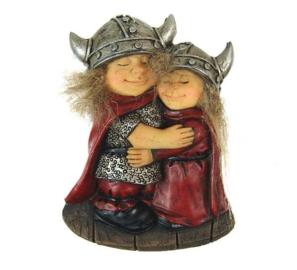 Bilde av Magnet, klemmende vikingebarn