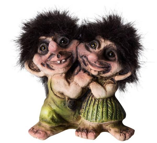 Bilde av Troll jente og gutt (Troll nr. 029)