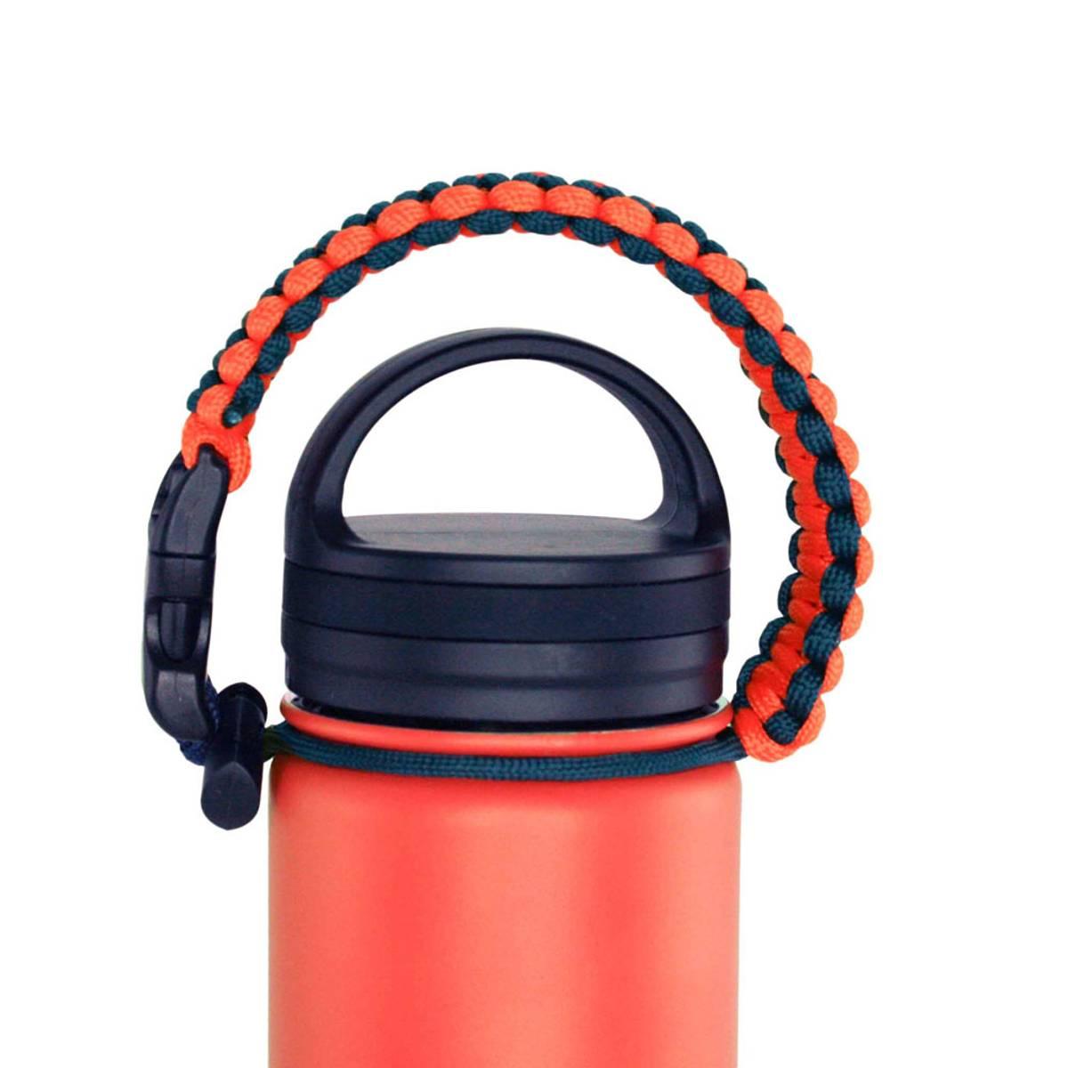 Termoflaske orange, livet er best ute