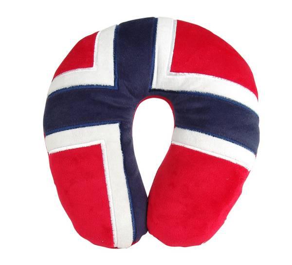 Bilde av Nakkepute, norsk flagg