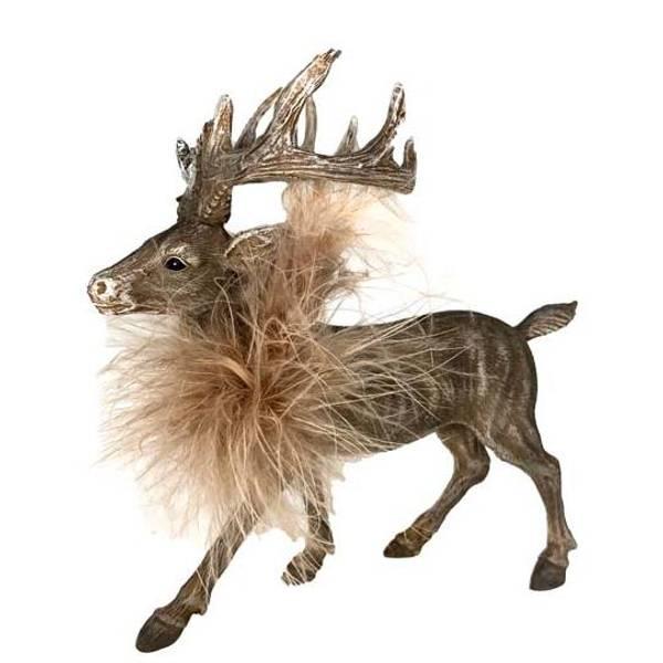 Bilde av Reinsdyr med fluffy hals, grå