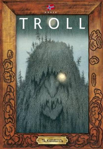 Bilde av Troll av Kittelsen