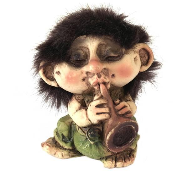 Bilde av Troll med blåselur  (Troll nr. 038)
