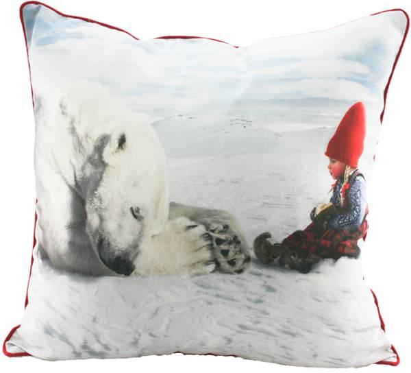 Bilde av Pute med fyll- Anja leser for isbjørnen -